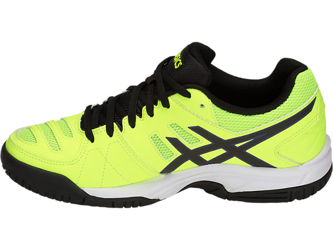 Left side view of GEL-PADEL PRO 3 GS, FLASH YELLOW/BLACK