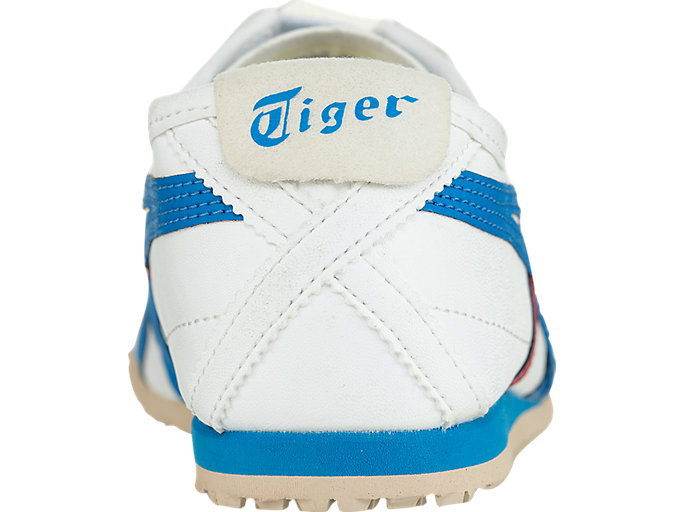 Back view of MEXICO 66 PS, WHITE/MID BLUE