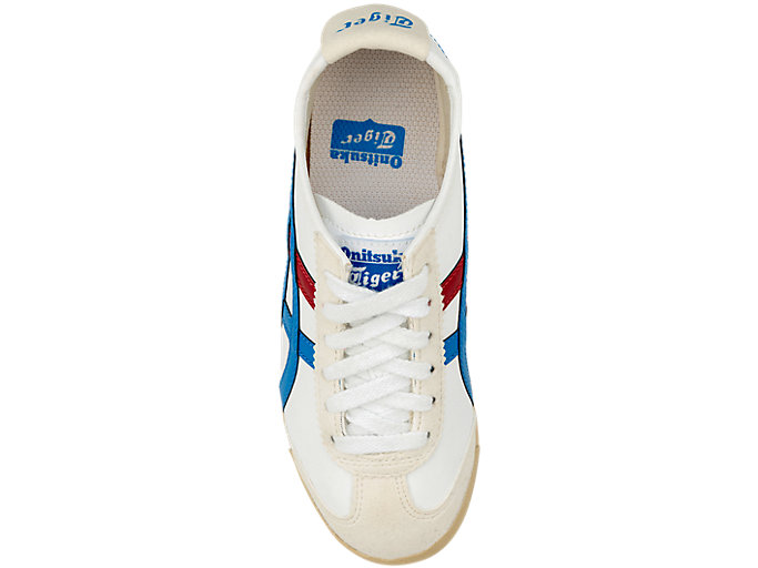 Top view of Mexico 66 Pre-School, WHITE/MID BLUE