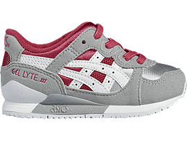 Right side view of GEL-LYTE III TS, Sport Pink/White