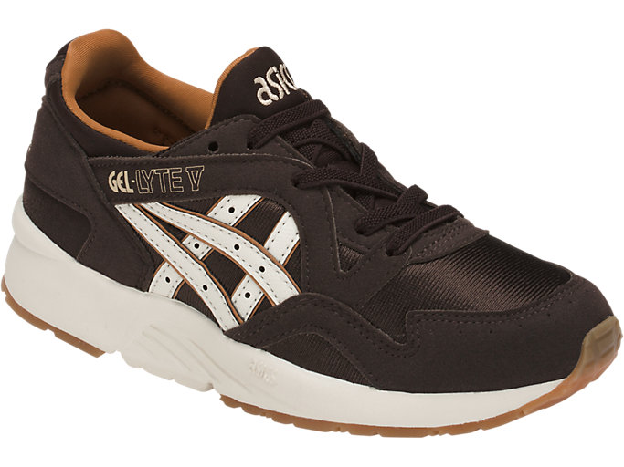 Front Right view of GEL-LYTE V PS, COFFEE BEAN/CREAM