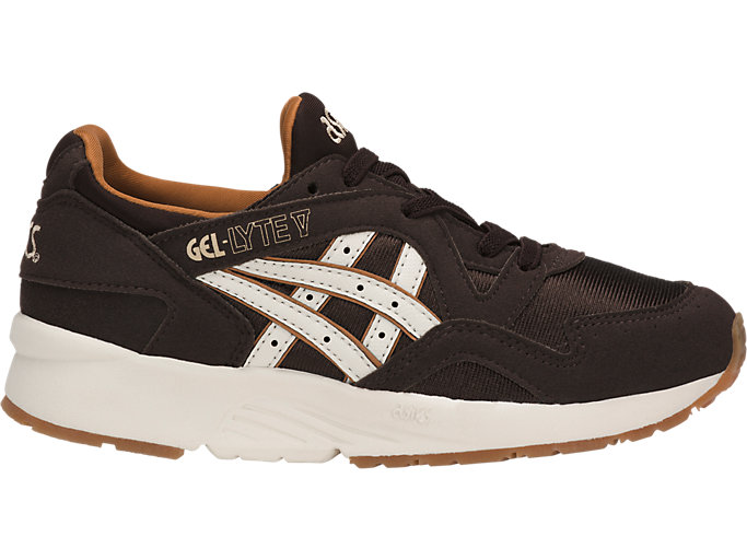Right side view of GEL-LYTE V PS, COFFEE BEAN/CREAM