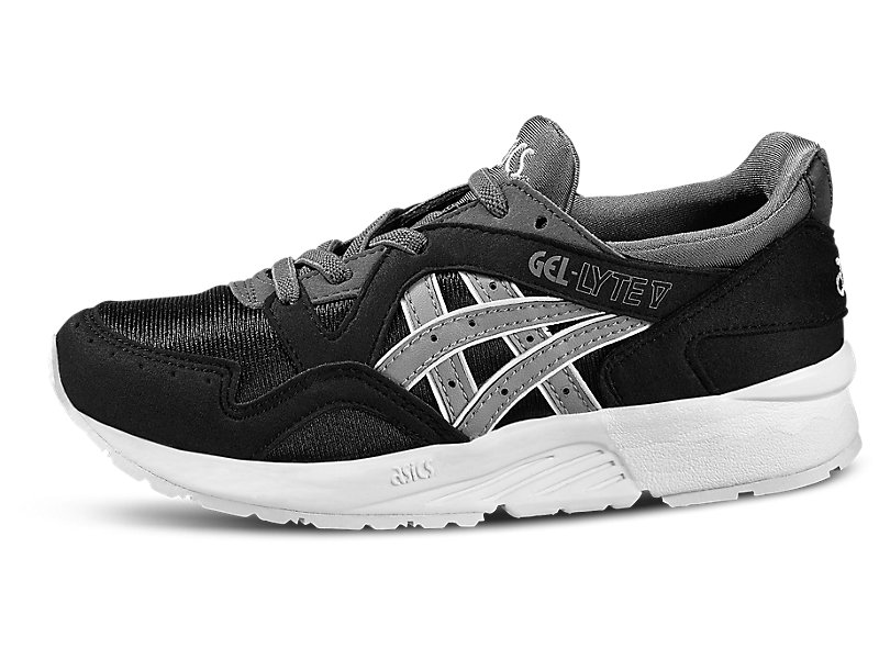GEL-Lyte V PS Black/Medium Grey 5 FR
