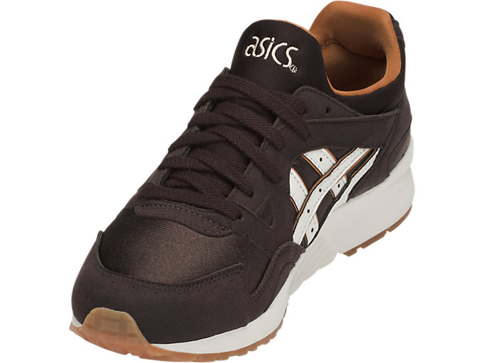 Front Left view of GEL-LYTE V GS, COFFEE BEAN/CREAM
