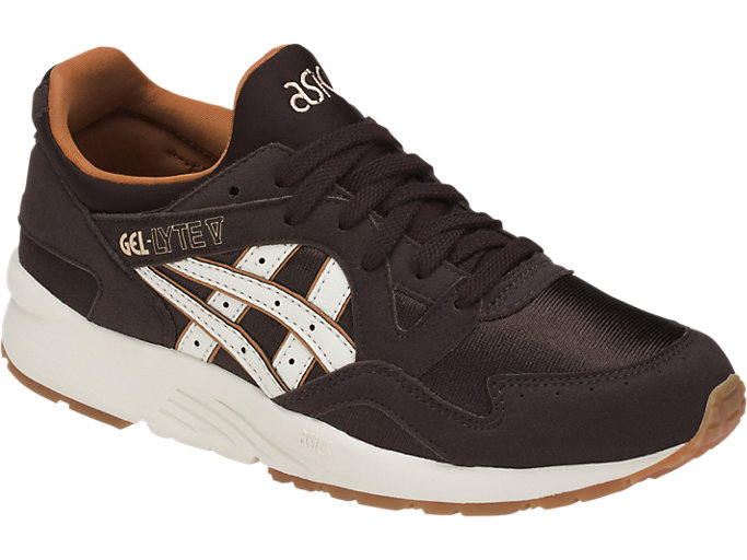 Front Right view of GEL-LYTE V GS, COFFEE BEAN/CREAM