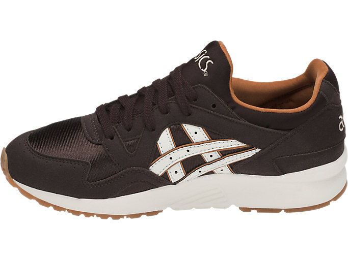 Left side view of GEL-LYTE V GS, COFFEE BEAN/CREAM