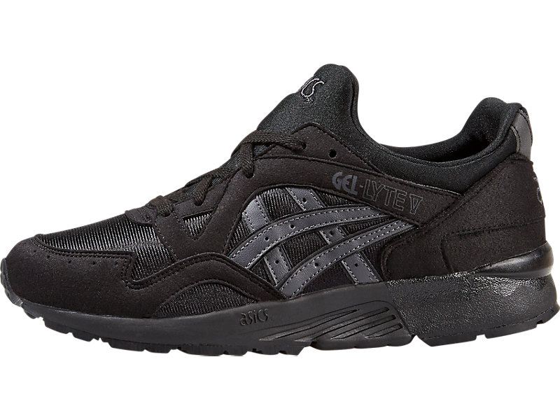 6fa32cd8badc GEL-Lyte V GS Black Dark Grey 1 FR