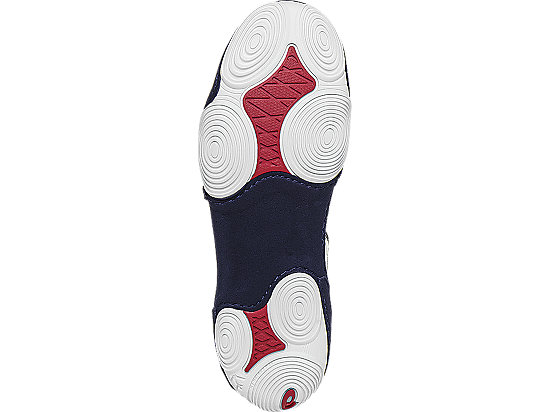 JB Elite V2.0 GS White/Dark Navy/True Red 15