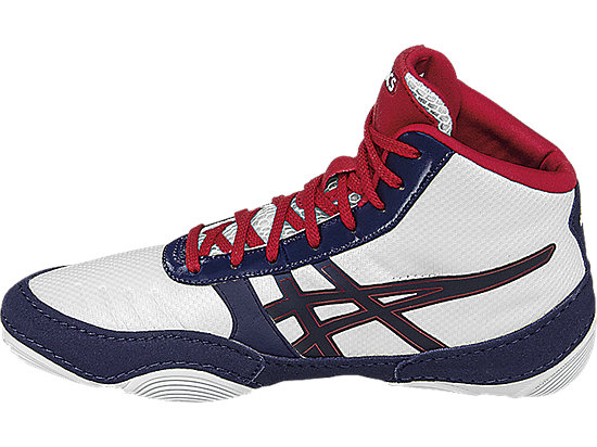 JB Elite V2.0 GS White/Dark Navy/True Red 11