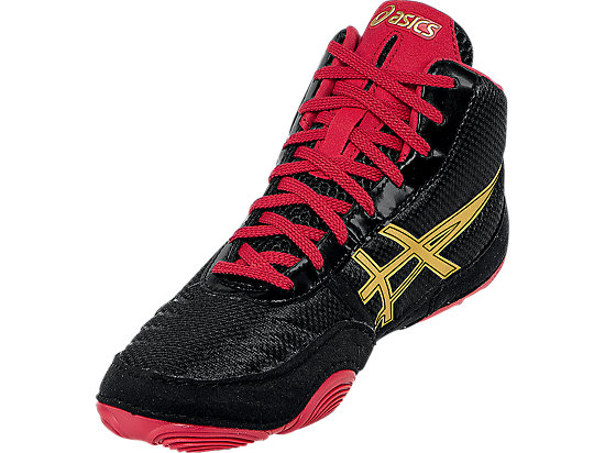 JB Elite V2.0 GS Black/Oly Gold/Red 11
