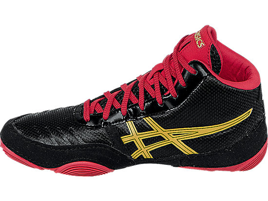 JB Elite V2.0 GS Black/Oly Gold/Red 15