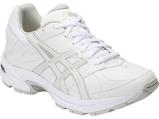 GEL-190TR GS - LEATHER WHITE / WHITE / SILVER 3