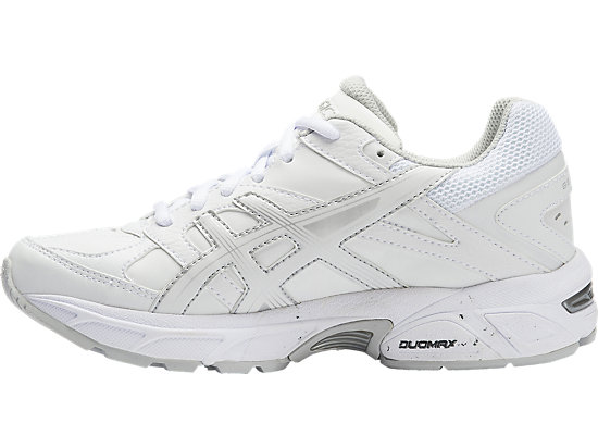 GEL-190TR GS - LEATHER WHITE / WHITE / SILVER 11