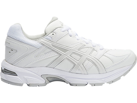 GEL-190TR GS - LEATHER WHITE / WHITE / SILVER 15