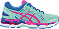GEL-Kayano 22 GS:Ice Blue/Pink Glow/Marina