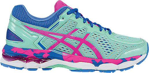 GEL-Kayano 22 GS Ice Blue/Pink Glow/Marina 3 RT