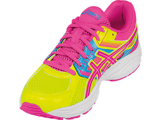 GEL-Contend 3 GS Flash Yellow/ Hot Pink/Turquoise 11