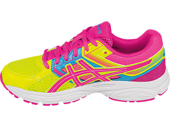 GEL-Contend 3 GS Flash Yellow/ Hot Pink/Turquoise 15