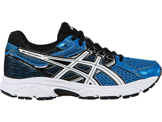 GEL-Contend 3 GS Electric Blue/White/Black 3