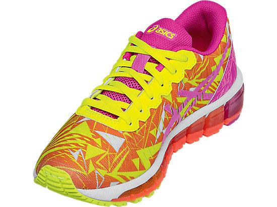 GEL-Quantum 360 GS Flash Coral/Pink Glow/Flash Yellow 11
