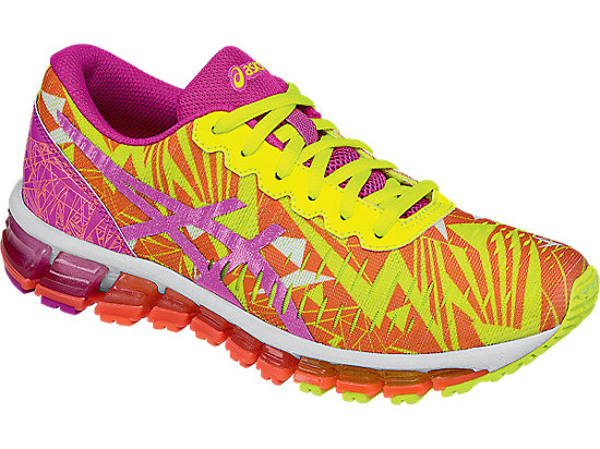 GEL-Quantum 360 GS Flash Coral/Pink Glow/Flash Yellow 7
