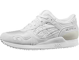 GEL-LYTE III GS, White/White