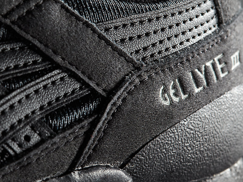 GEL-Lyte III GS Black/Black 21 Z