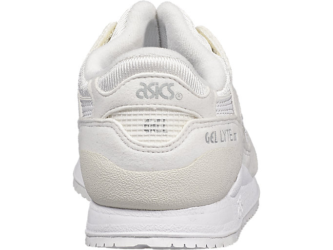 Back view of GEL-LYTE III PS, WHITE/WHITE