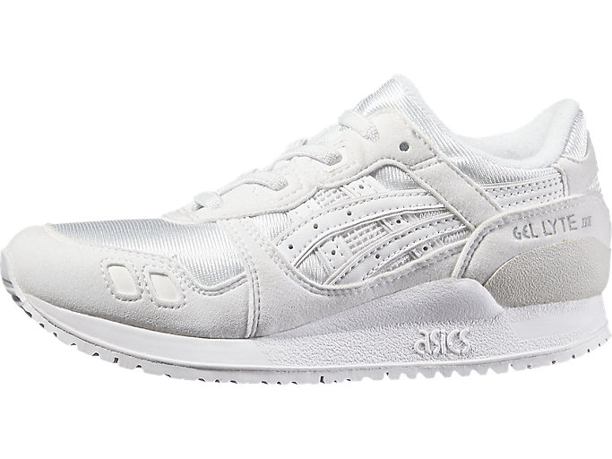 Right side view of GEL-LYTE III PS, WHITE/WHITE