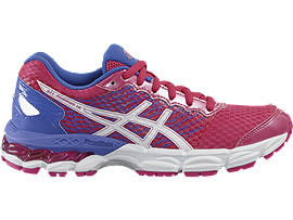 GEL-NIMBUS 18 GS, SPORT PINK/WHITE/PRIMROSE PURPLE