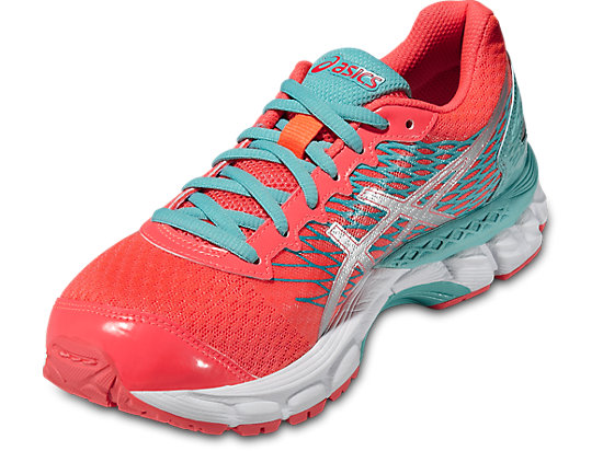 GEL-NIMBUS 18 GS HOT PINK/SILVER/FLASH YELLOW 7