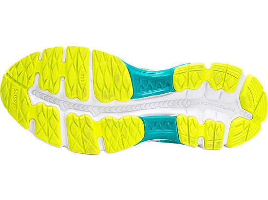 GEL-NIMBUS 18 GS TURQUOISE/WHITE/FLASH YELLOW 7