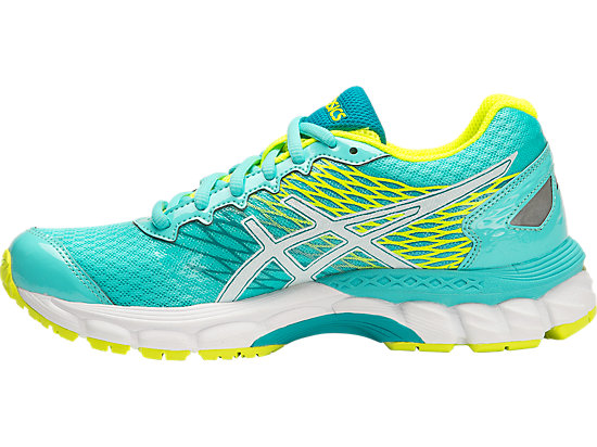 GEL-NIMBUS 18 GS TURQUOISE/WHITE/FLASH YELLOW 11