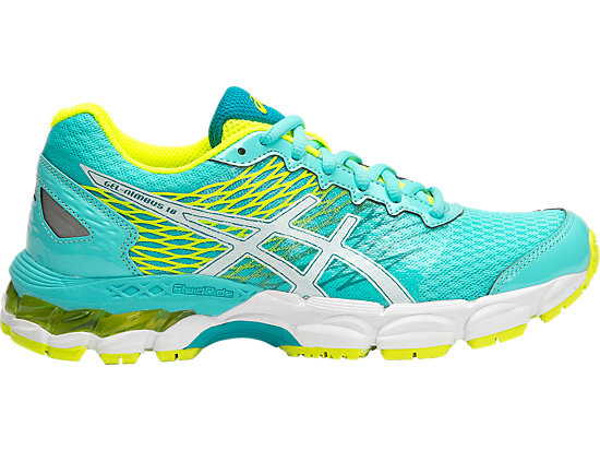 GEL-NIMBUS 18 GS TURQUOISE/WHITE/FLASH YELLOW 15