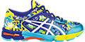 GEL-Noosa Tri 11 GS:Flash Yellow/White/Scuba Blue