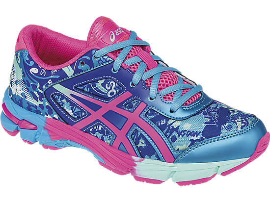 GEL-Noosa Tri 11 GS Turquoise/Hot Pink/ASICS Blue 7