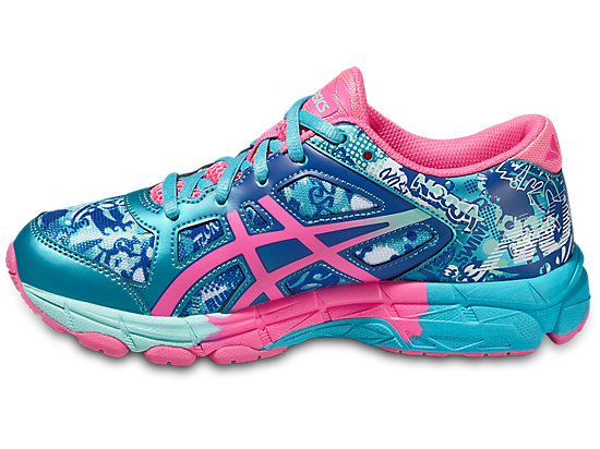 GEL-NOOSA TRI 11 GS TURQUOISE/HOT PINK/ASICS BLUE 15