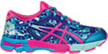 GEL-Noosa Tri 11 GS:Turquoise/Hot Pink/ASICS Blue