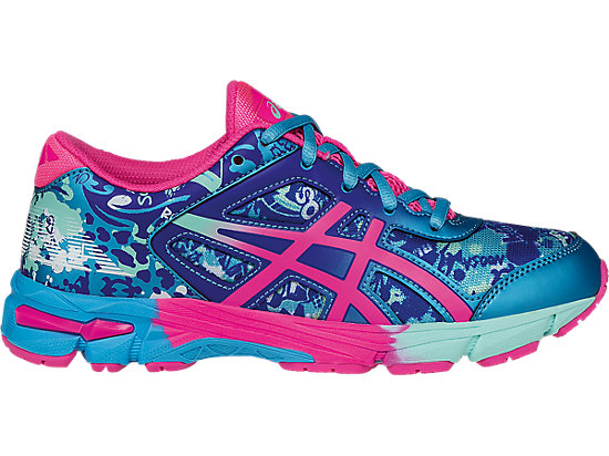 GEL-Noosa Tri 11 GS Turquoise/Hot Pink/ASICS Blue 3