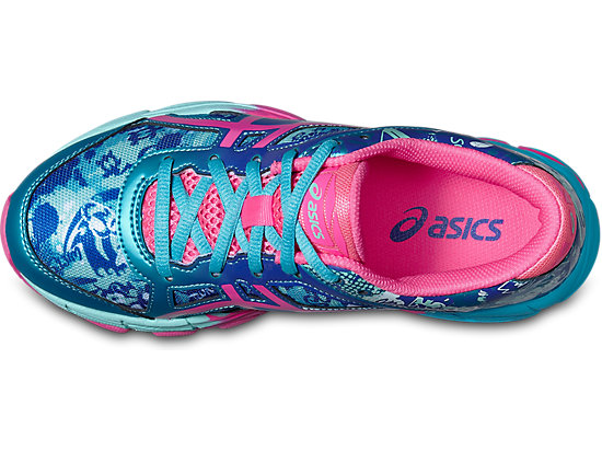 GEL-NOOSA TRI 11 GS TURQUOISE/HOT PINK/ASICS BLUE 19
