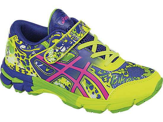 GEL-Noosa Tri 11 PS Safety Yellow/Pink Glow/ASICS Blue 7
