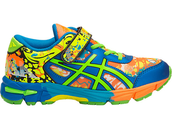 GEL-NOOSA TRI 11 PS, Safety Yellow/Green Gecko/Electric Blue