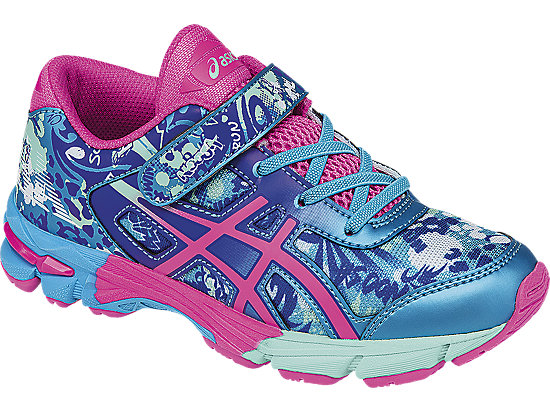 GEL-Noosa Tri 11 PS Turquoise/Hot Pink/ASICS Blue 7