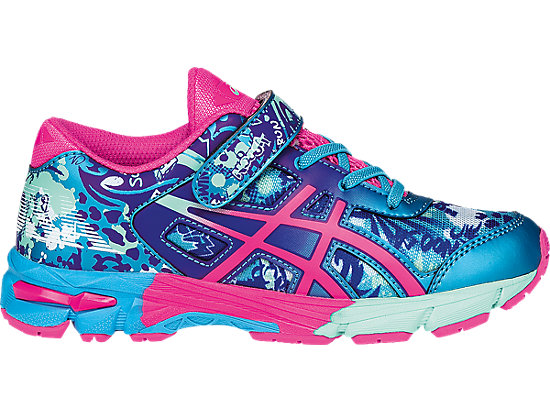 GEL-Noosa Tri 11 PS Turquoise/Hot Pink/ASICS Blue 3
