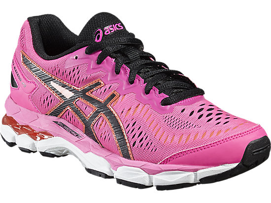 GEL-KAYANO 23 GS HOT PINK/BLACK/WHITE 7