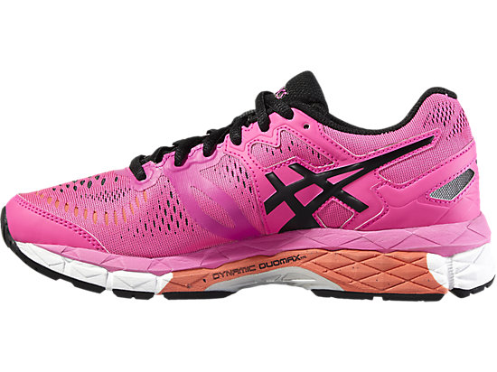 GEL-KAYANO 23 GS HOT PINK/BLACK/WHITE 11