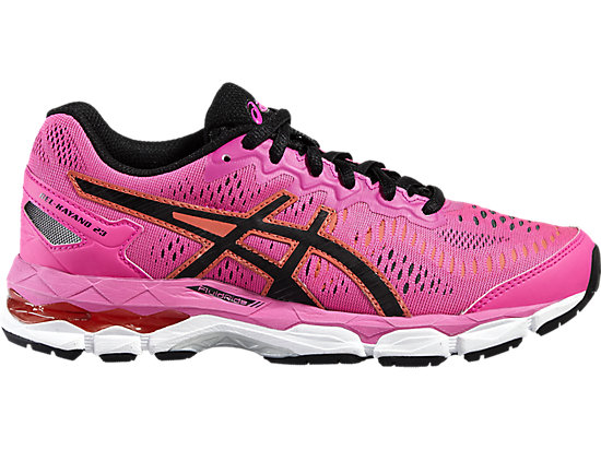 GEL-KAYANO 23 GS HOT PINK/BLACK/WHITE 3