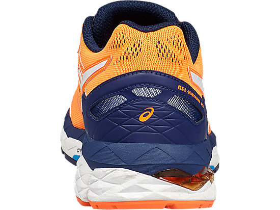 GEL-KAYANO 23 GS SHOCKING ORANGE/WHITE/INDIGO BLUE 19