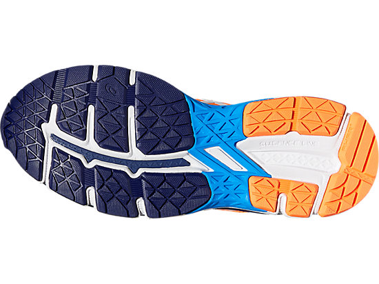 GEL-KAYANO 23 GS SHOCKING ORANGE/WHITE/INDIGO BLUE 11