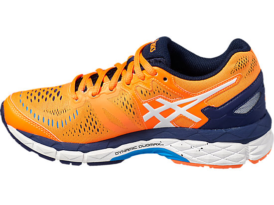 GEL-KAYANO 23 GS SHOCKING ORANGE/WHITE/INDIGO BLUE 7